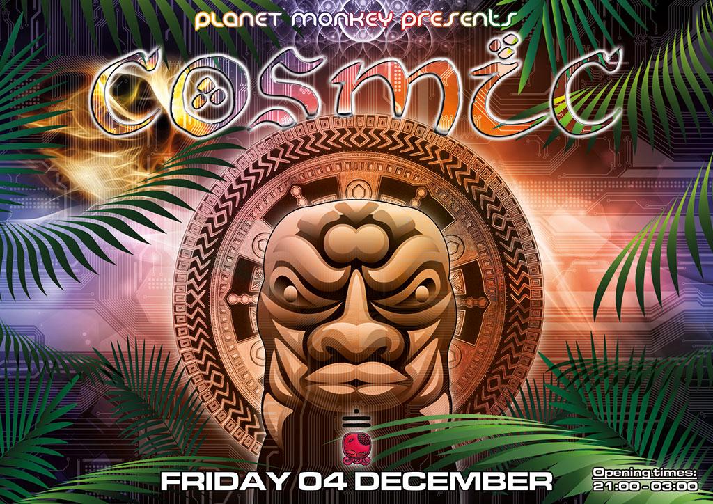 Cosmic flyer front - December 2015