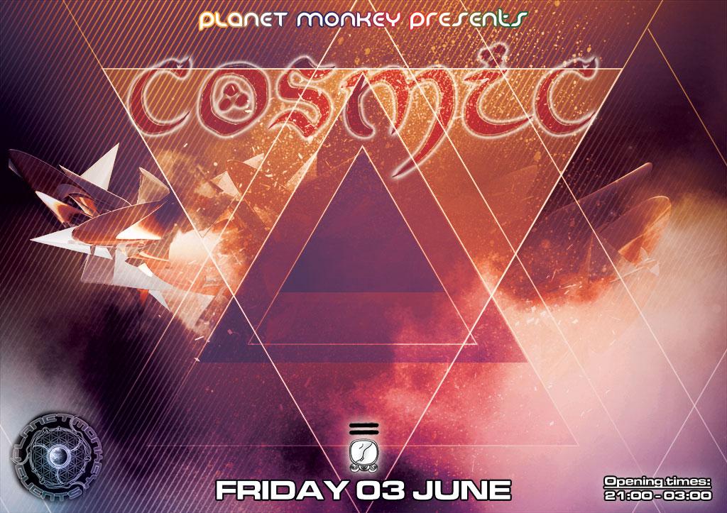 Cosmic flyer front - June 2016