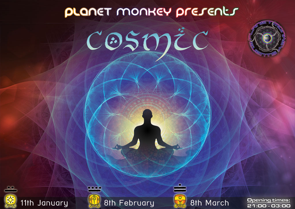 Cosmic flyer front - January/February/March 2013