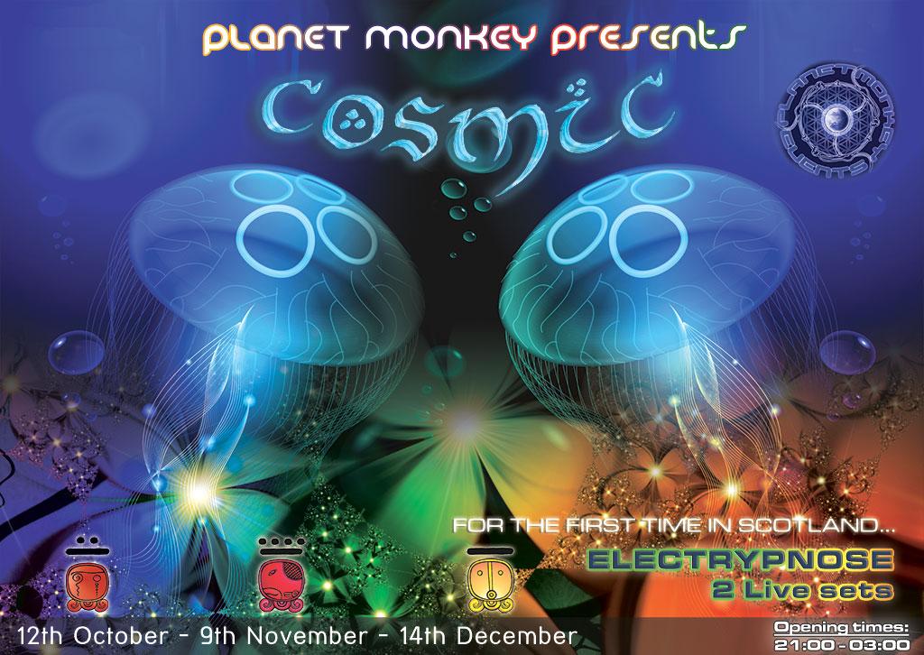 Cosmic flyer front Oct/Nov/Dec 2012