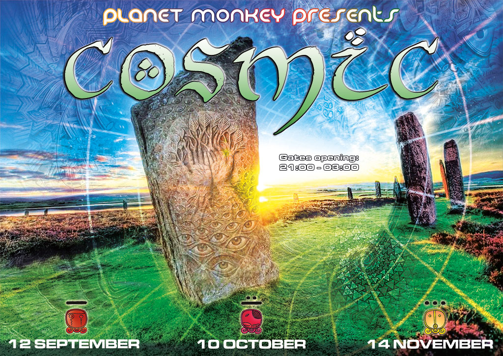 Cosmic flyer front - September/October/November 2014