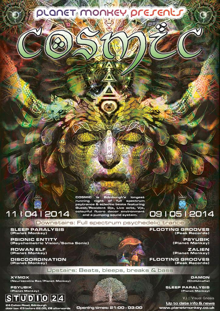 Cosmic poster - April/May 2014