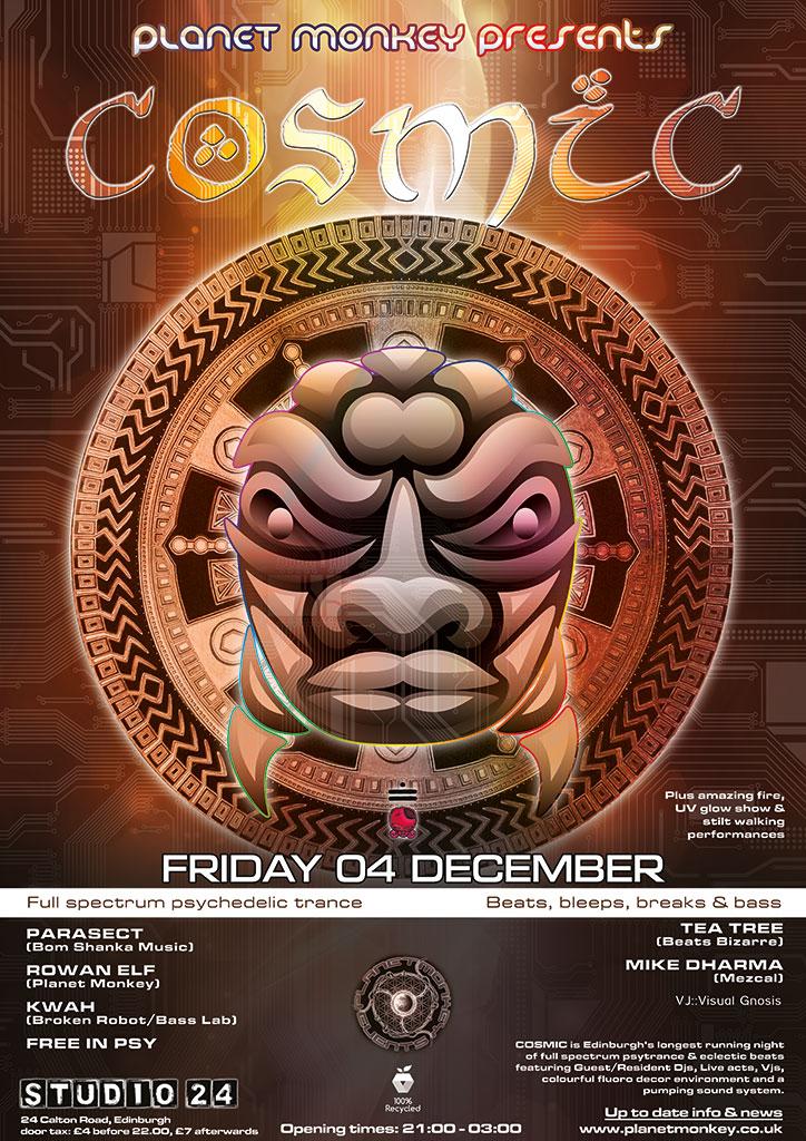 Cosmic poster - December 2015