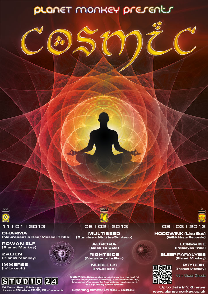 Cosmic poster - January/February/March 2013