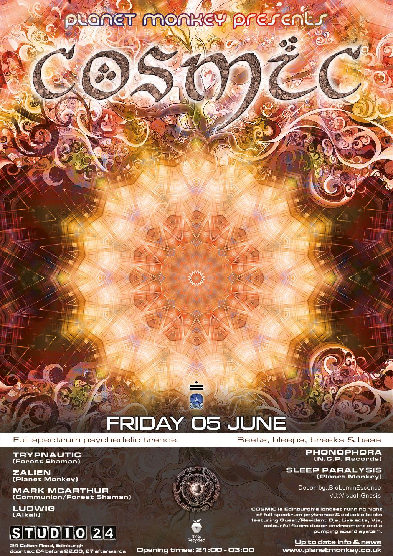 Cosmic poster - June 2015