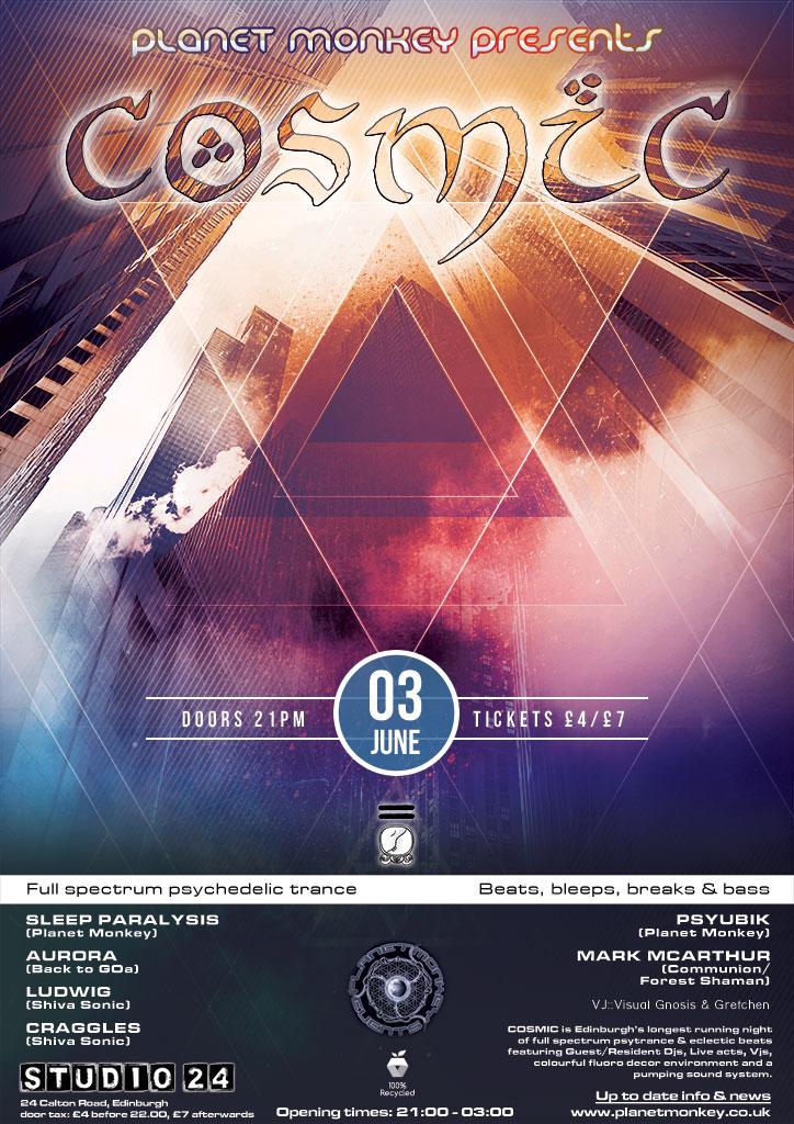 Cosmic poster - June 2016