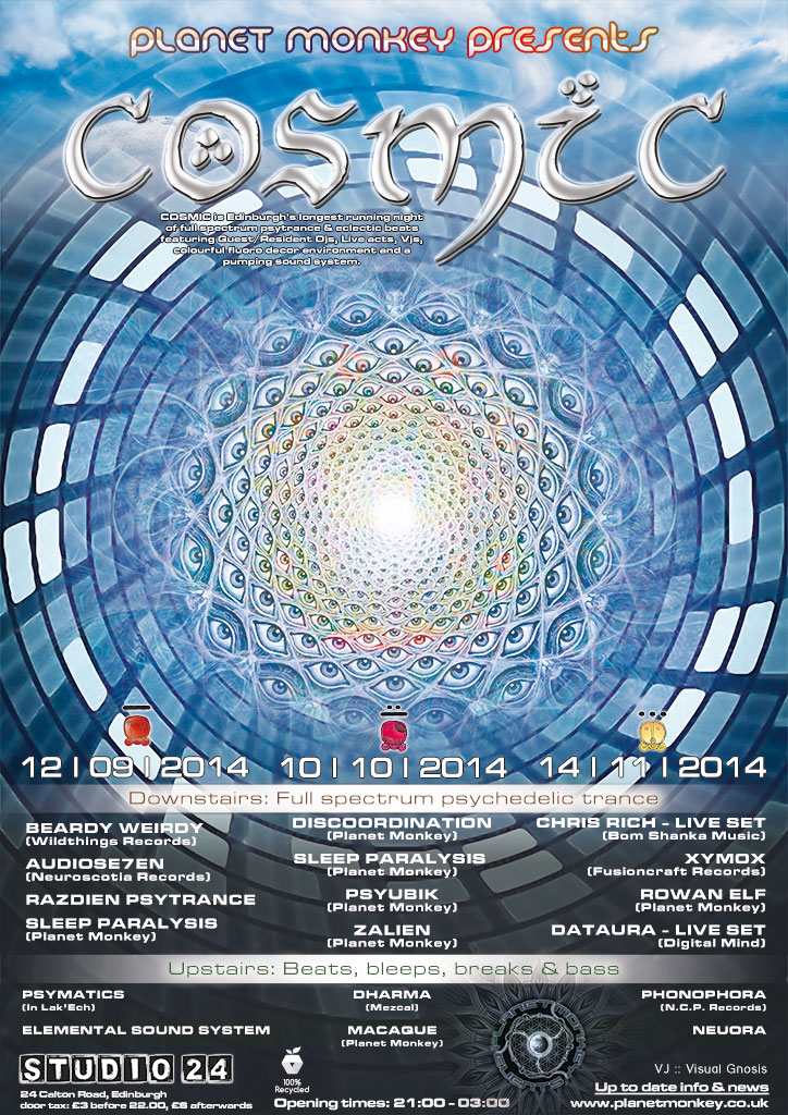Cosmic poster - September/October/November 2014