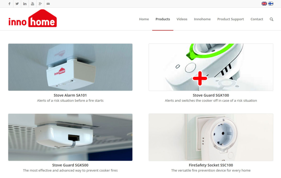 Innohome product page image