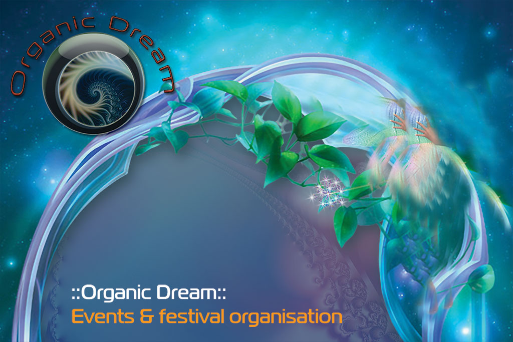 Organic Dream busines card front