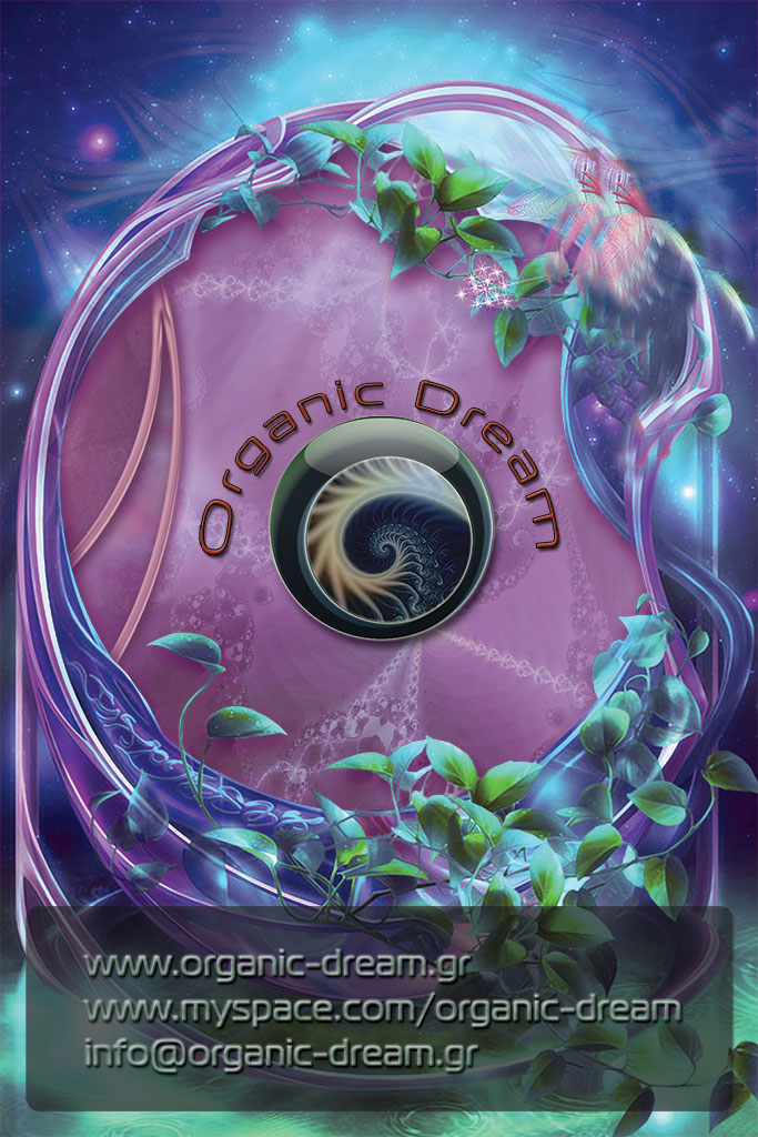 Organic Dream busines poster back