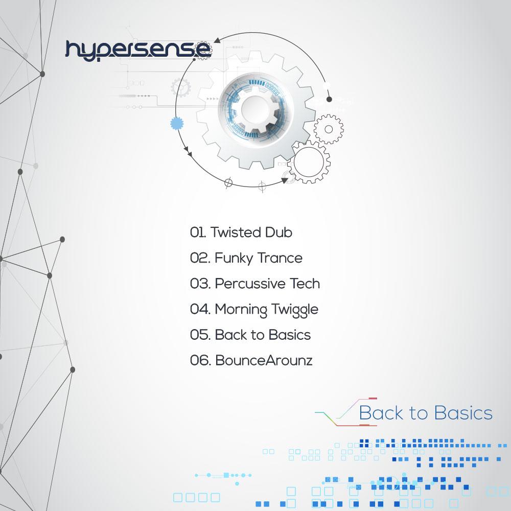 Hypersense back cover